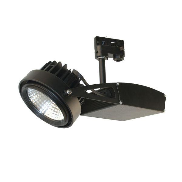 CLE LED Strahler 3 Phasen Stromschiene ST55 3400lm 32 Grad schwarz