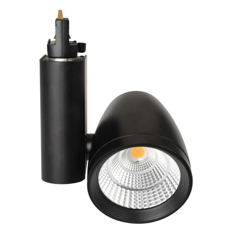 CLE LED Strahler Philips FORTIMO 3 Phasen Stromschiene TL02 24 Grad Schwarz 3600lm inkl. Reflektor, Adapter