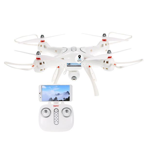 Syma X8 Pro GPS Quadrocopter weiß 2.4 GHz 720p HD-Kamera – Bild 2