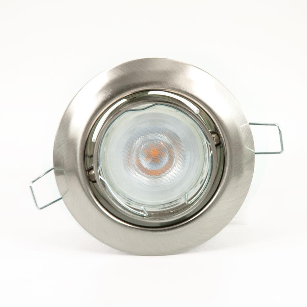 CLE LED Downlight Einbauleuchte 3830 chrom Philips LEDspot 4,5W