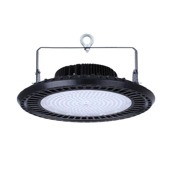CLE LED Hallenleuchte 60 Grad UFO HIGH BAY 200W Shoplight 3000K 26000lm A+