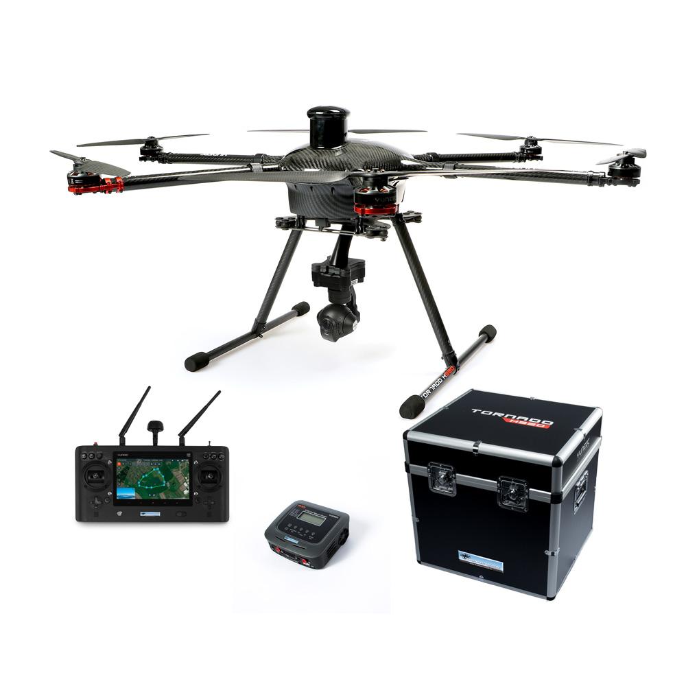 Yuneec Aerial Combo Tornado H920 Plus - CGO3+ 4K Kamera