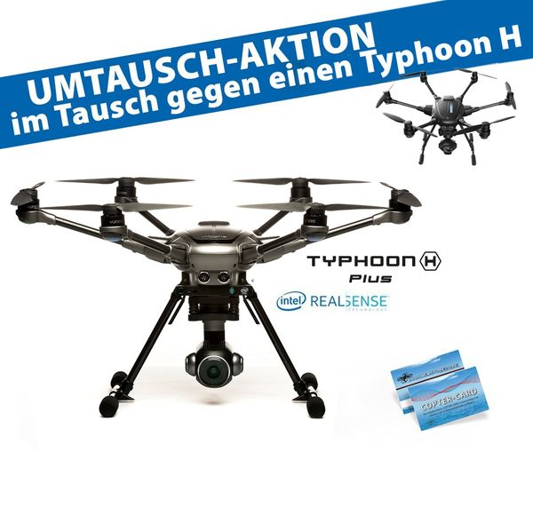 Yuneec Typhoon H Upgrade auf Typhoon H Plus Intel RealSense Technologie