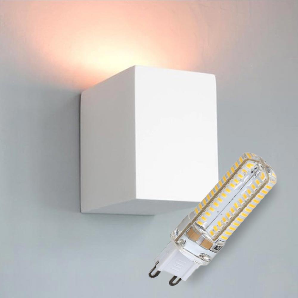 LED Gips Wandleuchte Rantum inkl. Leuchtmittel 5W 300lm G9 neutralweiß 4000K