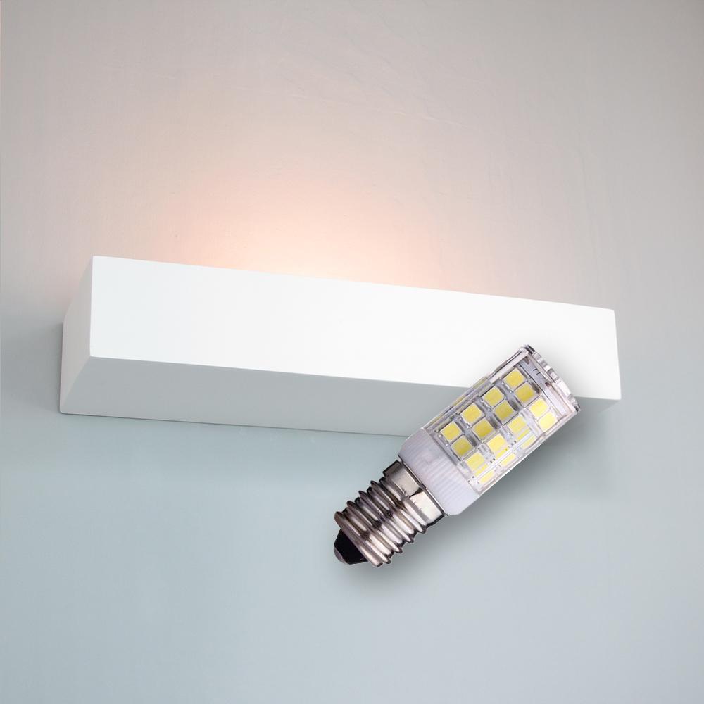 LED Gips Wandleuchte Nielönn inkl. Leuchtmittel 4W 370lm E14 warmweiß 2700K