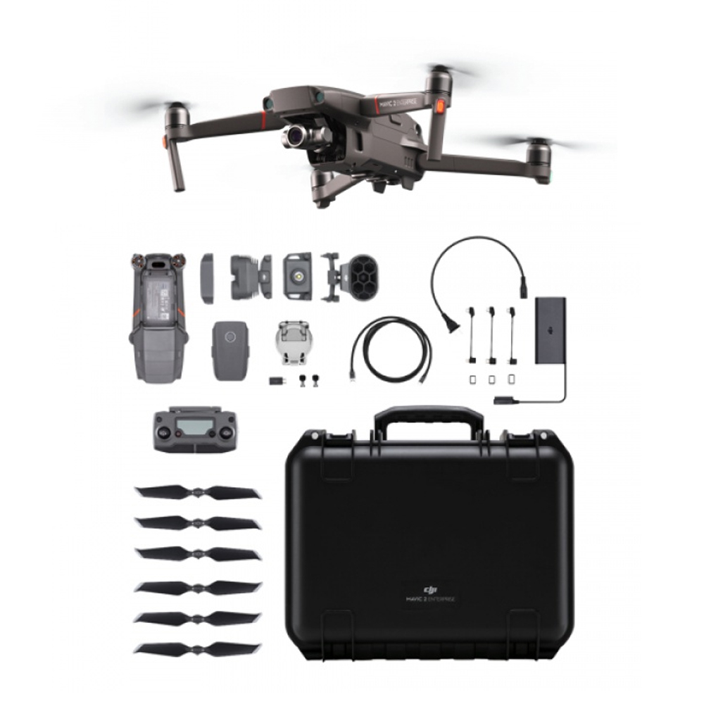 DJI Mavic 2 Enterprise (Zoom) Universal Edition Omnidirektionale Hinderniserkennung