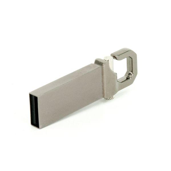 GADGET 32GB USB Stick Karabiner Silber – Bild 2