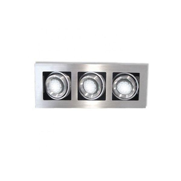 CLE Kardan LED Einbauleuchte YK3 ALUTEC MasterPower LEDspot 3x6W Abstrahlwinkel verstellbar dimmbar