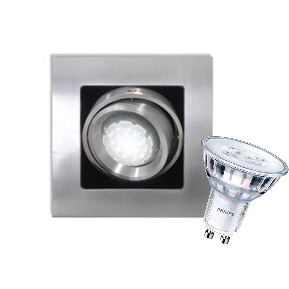 CLE Kardan LED Einbauleuchte YK1 ALUTEC LEDspot 5W Abstrahlwinkel verstellbar dimmbar