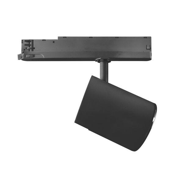 CLE LED 3 Ph Stromschienenstrahler ST174A Kopf schwarz inkl. FORTIMO SLM Modul 3600lm, Treiber, Adapter  – Bild 5