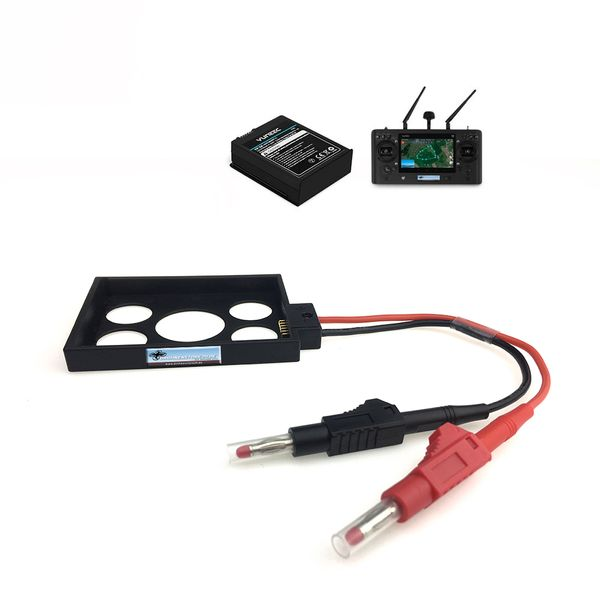 DS24 Ladeschale für Yuneec ST16S Akku für H520 und H Plus inkl. Schutzkontaktstecker – Bild 1