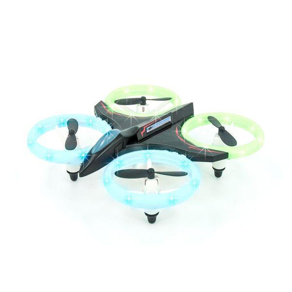 DS24 DISCO Quadrocopter Weihnachtsspecial inkl. zwei Akkus, Tasche XL, Cappy, Sonnenbrille rot – Bild 5