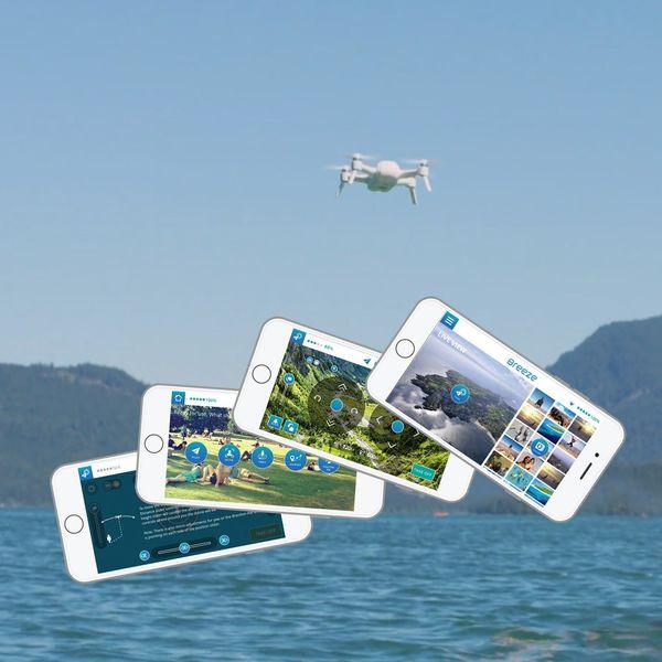 YUNEEC Breeze Selfiedrohne inkl. 4K UHD Kamera, Controller, 2 Akkus und KFZ-Ladekabel – Bild 7