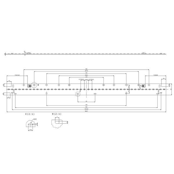 Philips Fortimo LED Line 2ft 2200lm 830 1R HV4 Gen4 – Bild 3
