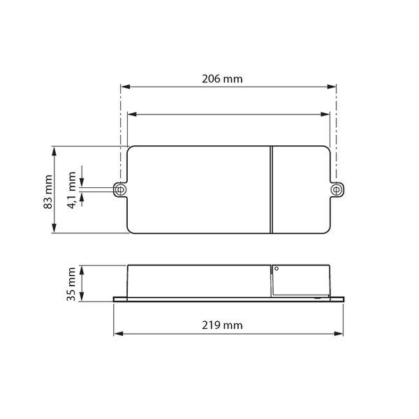 Philips Xitanium/Fortimo LED Driver 75W SH 0.3-1A 110V I 230V – Bild 2