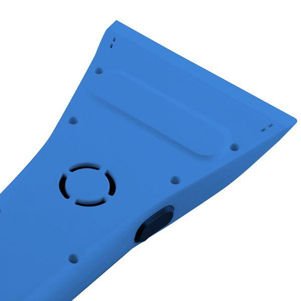KN-TECH SCRAPPY Elektrischer Eiskratzer für Autoscheibe mit 12V Adapterkabel 4m blau – Bild 2