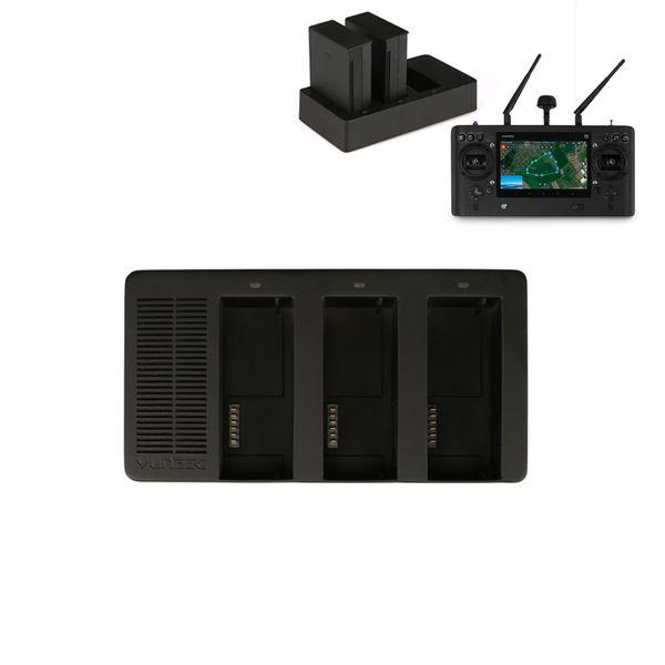 Yuneec ST16S Multilader für 3 Fernsteuerungsakkus