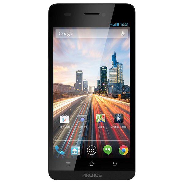 Archos 45b Helium Smartphone B-Ware entsperrt 4,5 Zoll 4 GB Dual SIM Android 4.4 KitKat schwarz  – Bild 1
