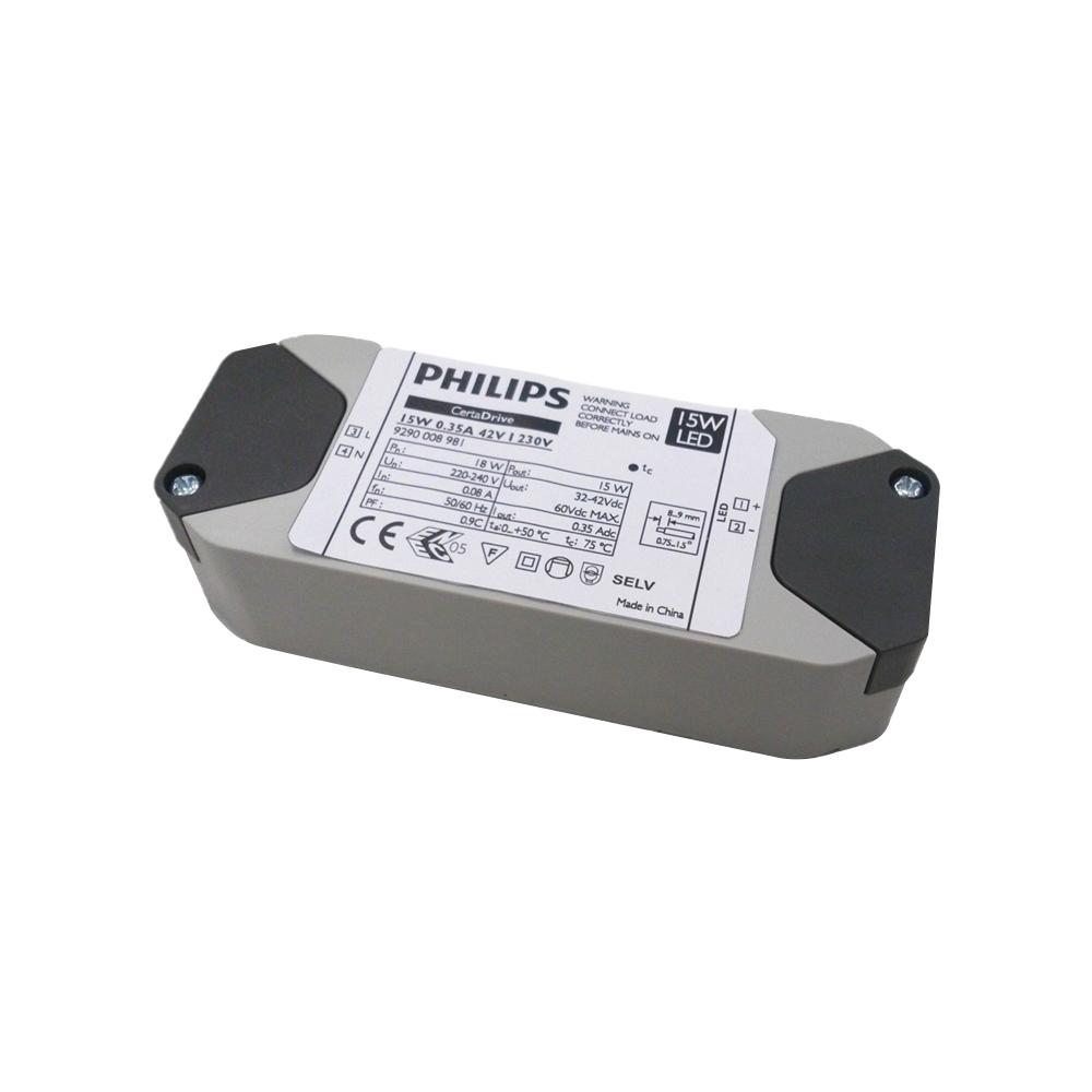 Philips CertaDrive LED Driver 350mA 42V 15W I 230V G2 Konstantstrom Trafo Netzteil Netzgerät