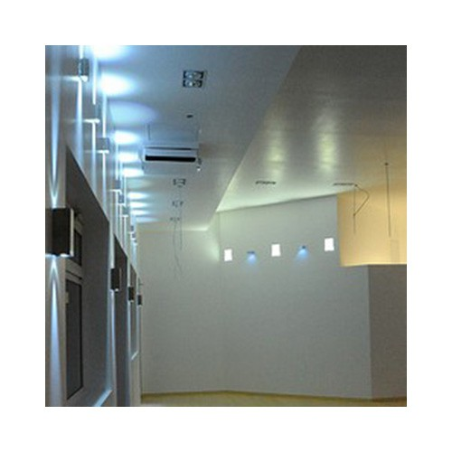 LED Cube Aufbauleuchte innen/aussen alu grau mit MASTER LEDluster 6W E27 P48 CL Bild 7