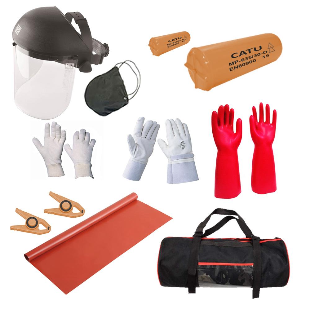 Wallbox24 Satz persönliche Schutzausrüstung Sicherheit Hochvolt-Einsatz
