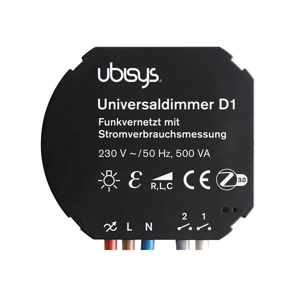 ubisys Smart Home Universaldimmer D1 ZigBee Funksteuerung
