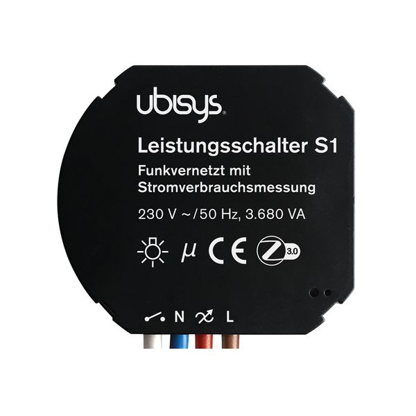 ubisys Smart Home Leistungsschalter S1 ZigBee Funksteuerung