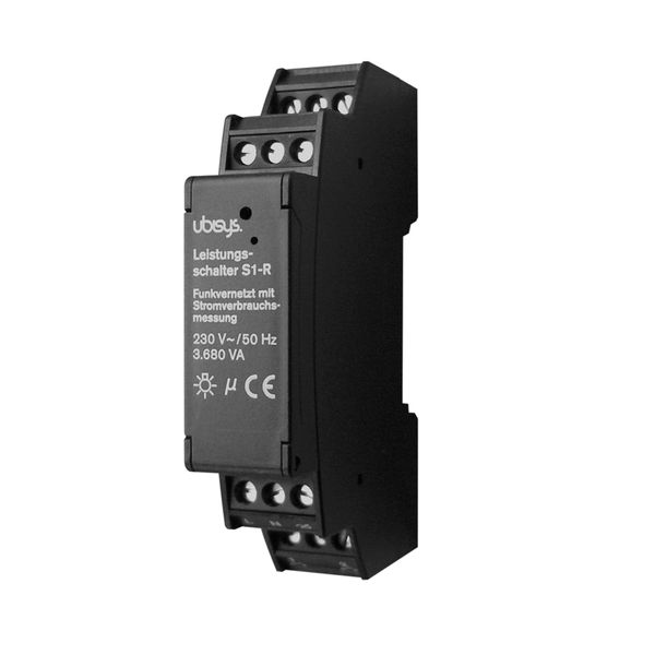 ubisys Smart Home Leistungsschalter S1-R ZigBee Funksteuerung