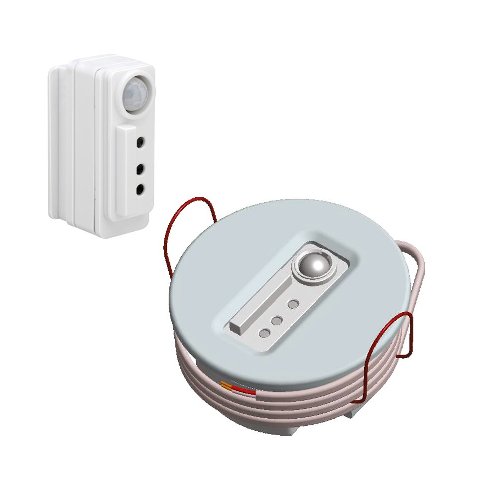 Philips EasyAir SNS300cmp/w Multifunktionssensor Präsenzmelder Lichtsensor mit Deckenhalterung ZigBee 3.0 kompatibel