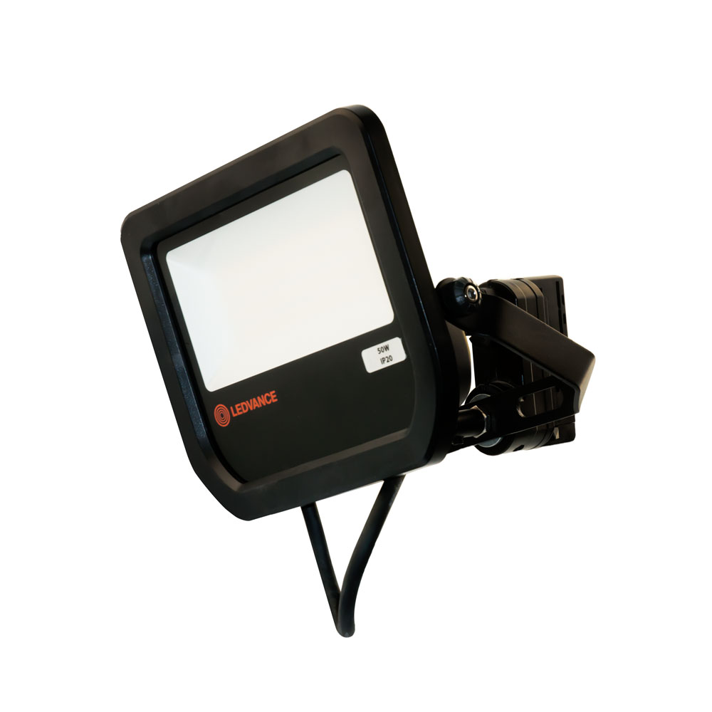 OSRAM LEDVANCE 50W Stromschienenstrahler schwarz LED 5500 Lumen, 4000K Breitstrahler