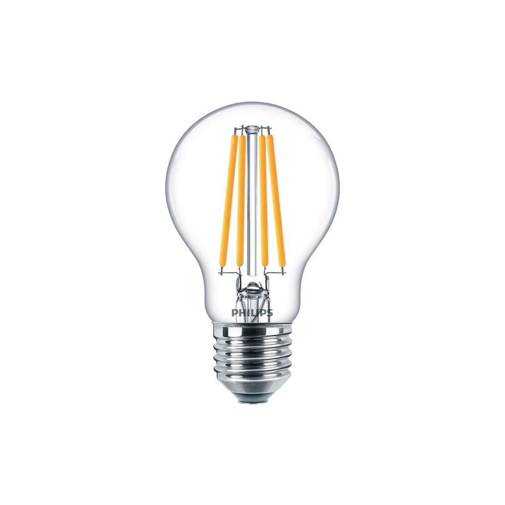 Philips Classic LEDbulb 10,5W Ersatz für 100W A60 E27 827 1521lm 2700K klar FIL