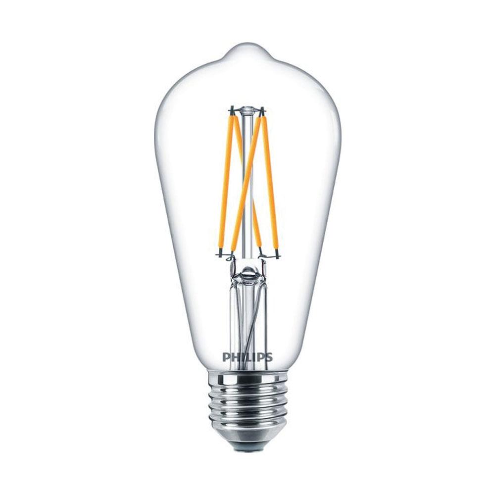Philips Classic LEDbulb 9W(60W) ST64 E27 927 806lm 2200-2700K klar FIL DimTone