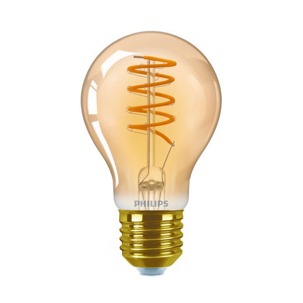 Philips Classic LEDbulb 5,5W(25W) A60 E27 820 250lm 2000K gold Vintage Dimmbar