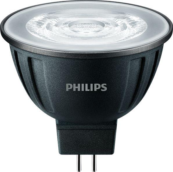 Philips MASTER LEDspot 8W(50W) 12V GU5.3 MR16 830 36 Grad 621lm 3000K dimmbar weiss
