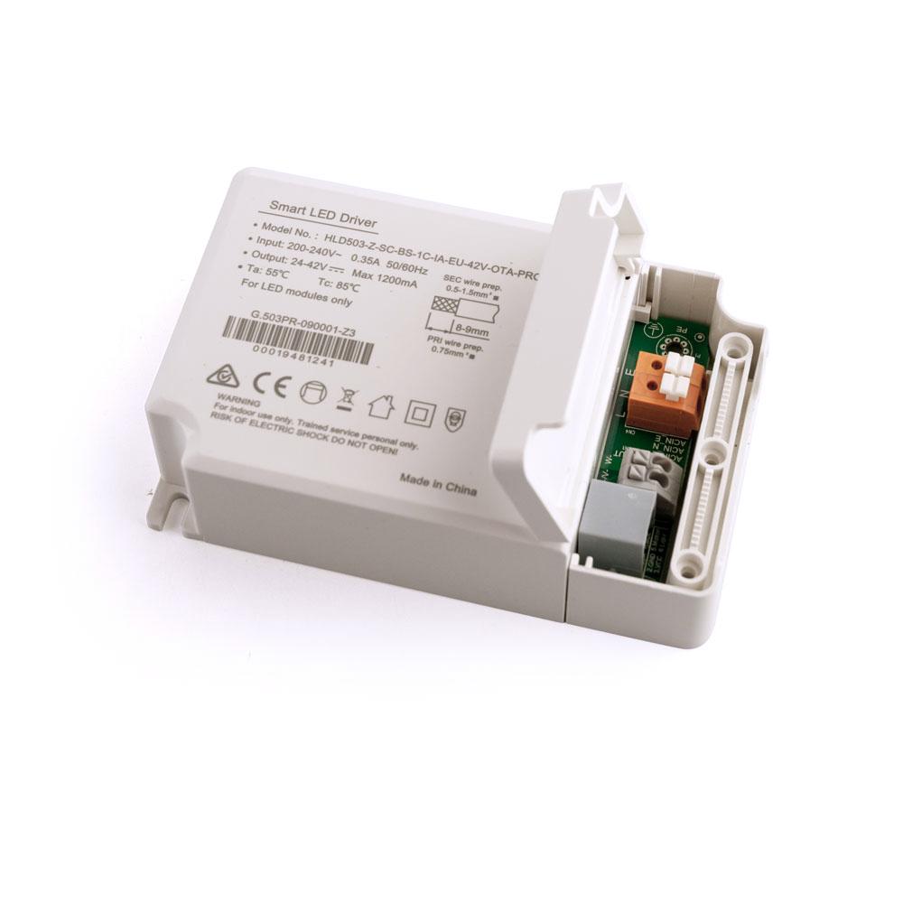 Zigbee 3.0 40W LED Treiber Dimmbar max 1200mA Konstantstrom
