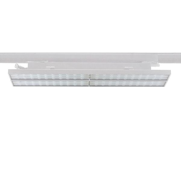 CLE SUPREME ARENA PLUS LED 3Ph Linearleuchte 44W 3000K 5300lm 36 Grad weiss Breitstrahler
