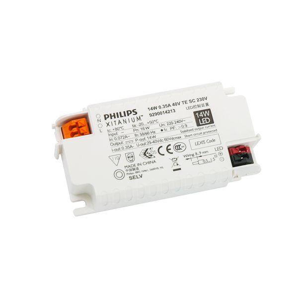 Philips Mini LED Driver Xitanium 350mA 40V 14W 230V TE SC DIM Trafo Netzteil Netzgerät Konstantstromtrafo