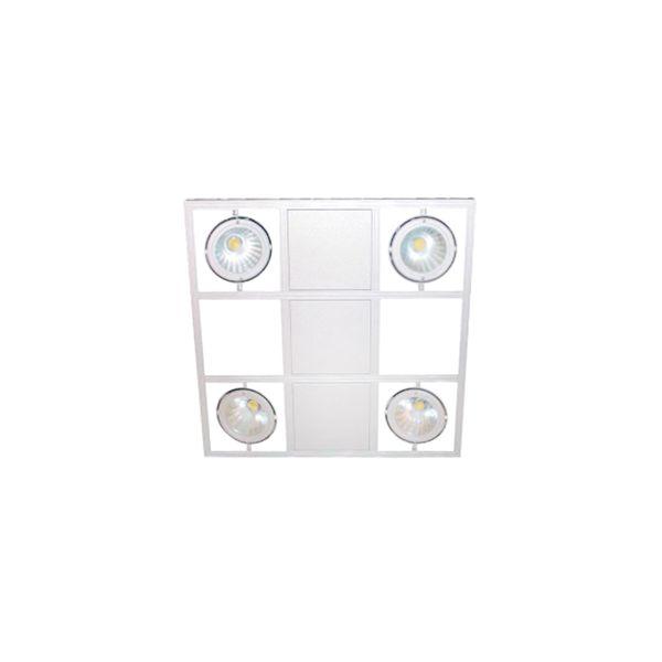 CLE LED Hängeleuchten Webspace Quattro weiss 4x 28W 14400lm warmweiß Shoplight