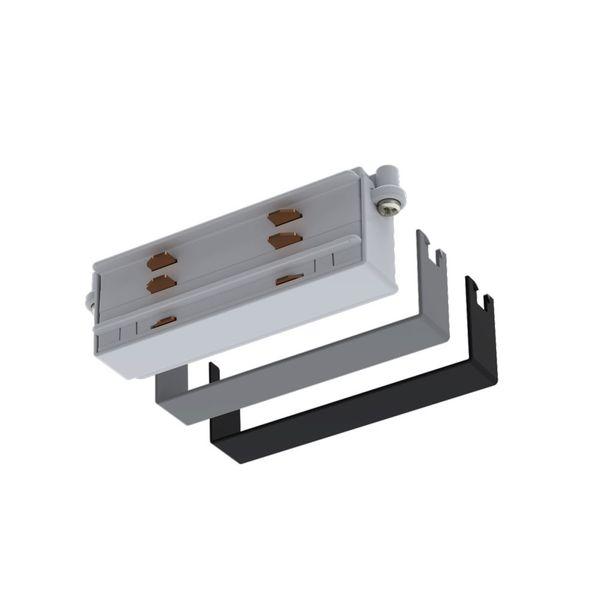 CLE Längsverbinder für Profi 3 Ph. Stromschienen schwarz, grau, weiss