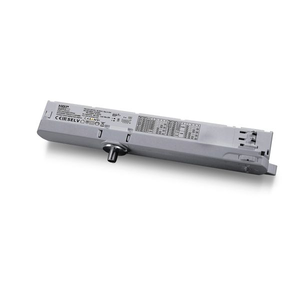 LED 3 Phasen Stromschienen CASAMBI In Track Adapter inkl. Treiber 42W 300-1050mA 10-42V grau Trafo Netzteil Netzgerät Konstantstromtrafo