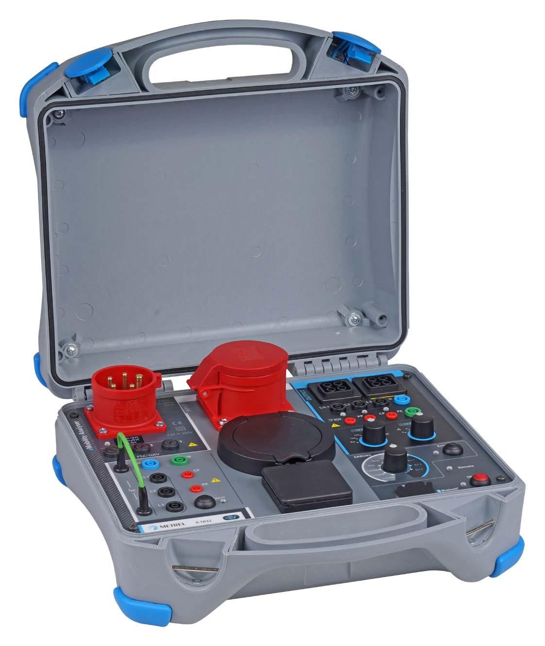 Wallbox24 eMobility Analyser Metrel A1632 Adapter für Ladesäulen LadekabeI Prüfungen