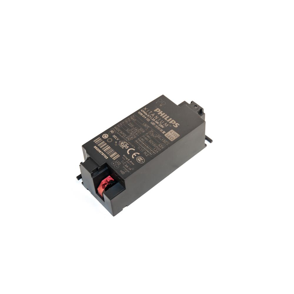 Philips Mini LED Driver Xitanium 700-1200mA 24-54V 43W 230V Trafo Netzteil Netzgerät Konstantstromtrafo