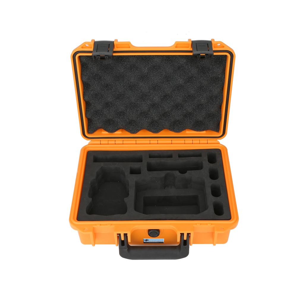 DS24 Profi Transport Koffer large orange für DJI Mini 2 Combo wasserdicht