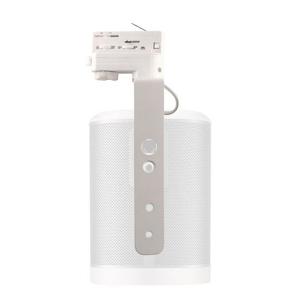 CLE Montagebügel für Sonos Play 1 weiß für 3-Phasen Stromschiene