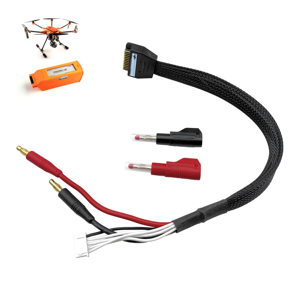 DS24 Ladekabel für Yuneec Akkus der H520E und H3 Zubehör Charging Cable Adapter