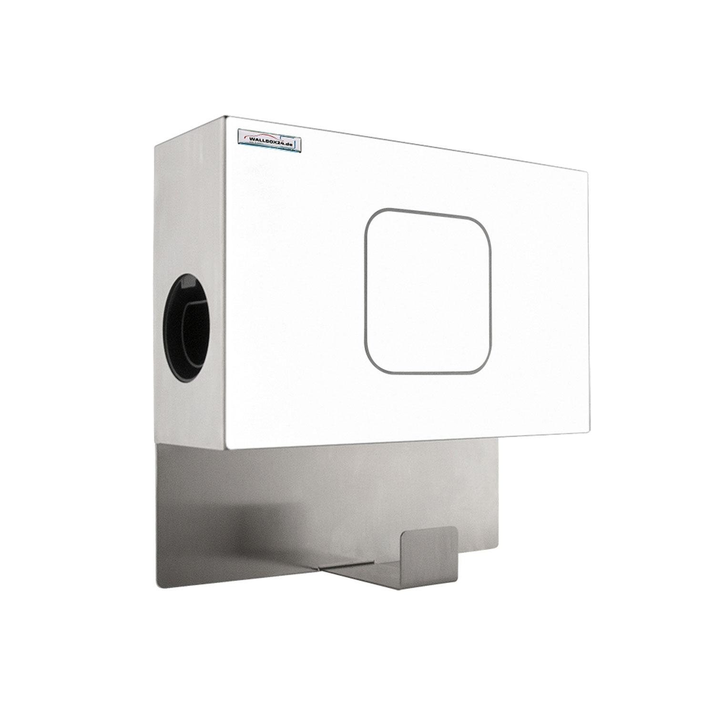 Wallbox24 Edelstahlbox weiss für Pulsar Wallbox Ladestation Ersatzteil Zubehör Elektromobilität