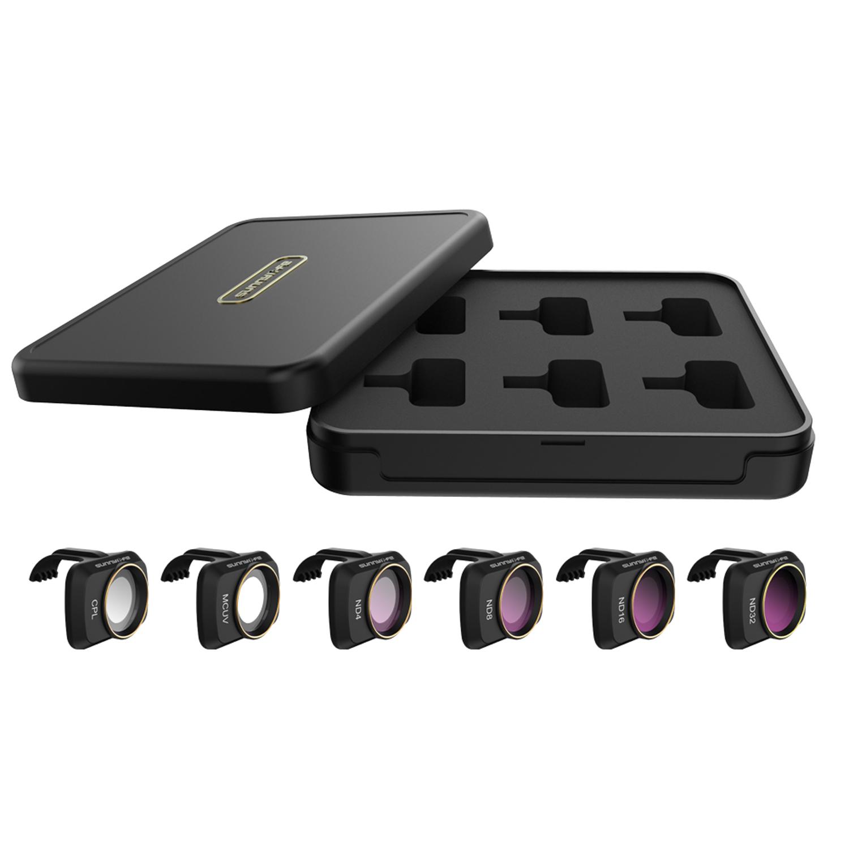 DS24 Filter für DJI Mavic Mini, Mini 2 6er COMBO Set - MCUV, CPL, ND4, ND8, ND16, ND32