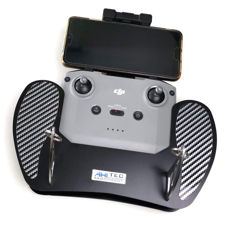 AHLtec Hochwertiges Senderpult für DJI Mavic Air 2 und Mini 2 in schwarz