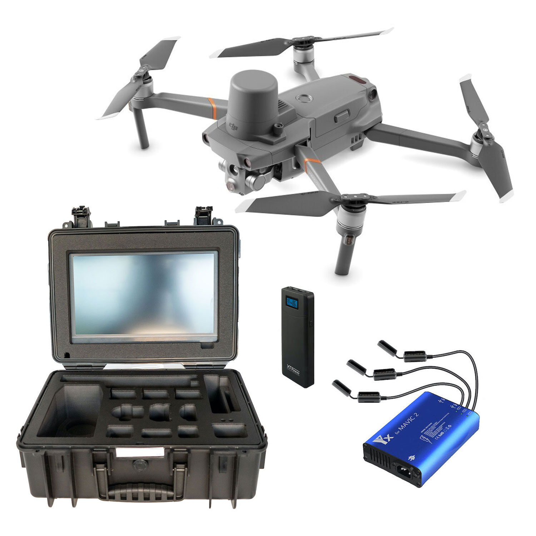 DS24 DJI Mavic 2 Enterprise Advanced mit dualem Kamerasystem und Profi BOS Koffer