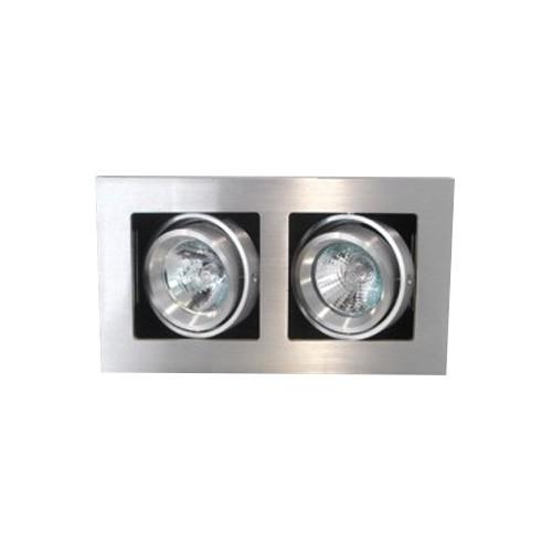 CLE Kardan LED / Halogen Einbauleuchte YK2 ALUTEC max. 2x 50W 12V